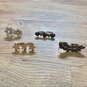 Jewelry - Bundle of Fashion Rings